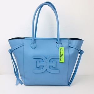 Sam Edelman Blue Tote Shoulder Handbag Bag